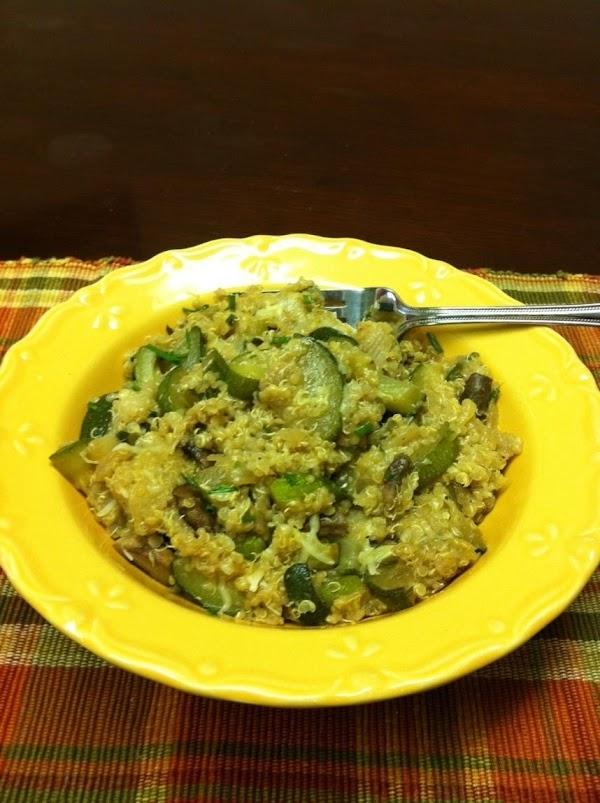 Zucchini And Quinoa Medley Recipe