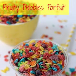 Fruity Pebbles Parfait.