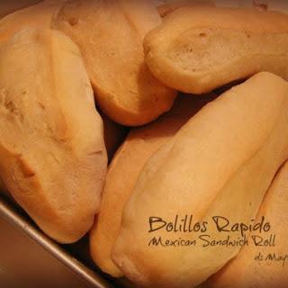Bolillos Rapido Using Bread Machine.