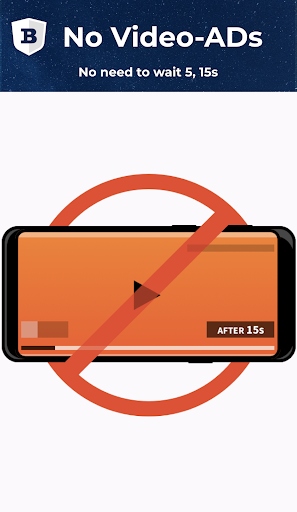 BLU Internet Browser :AdBlock,Light,Secure & Fast screenshot 1