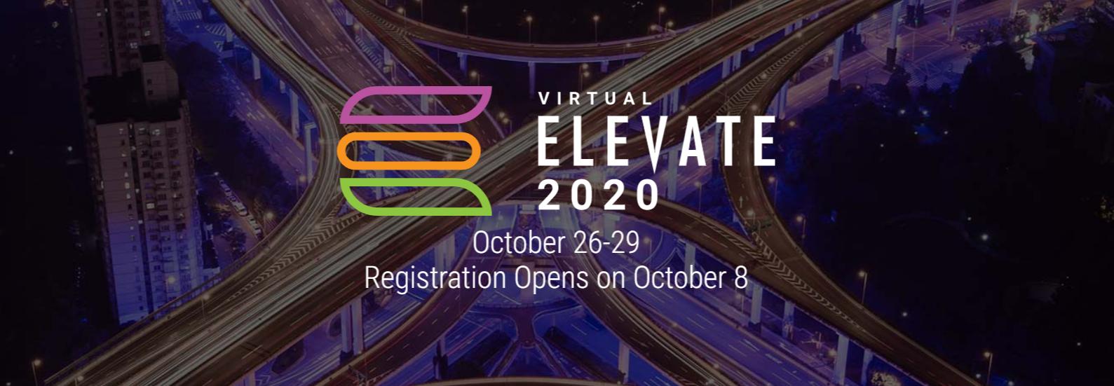 Virtual ELEVATE 2020 Header