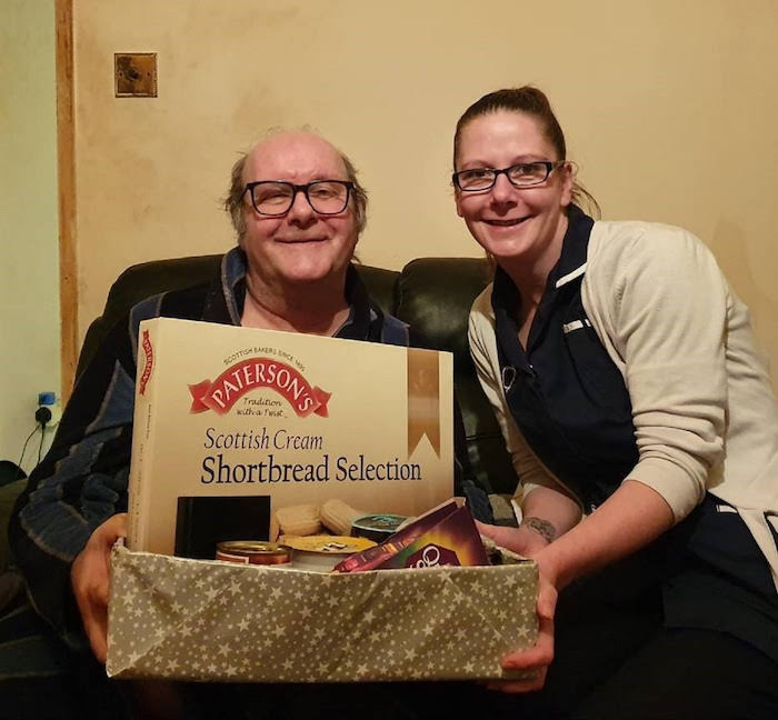 Festive shoeboxes donated to local elderly and vulnerable