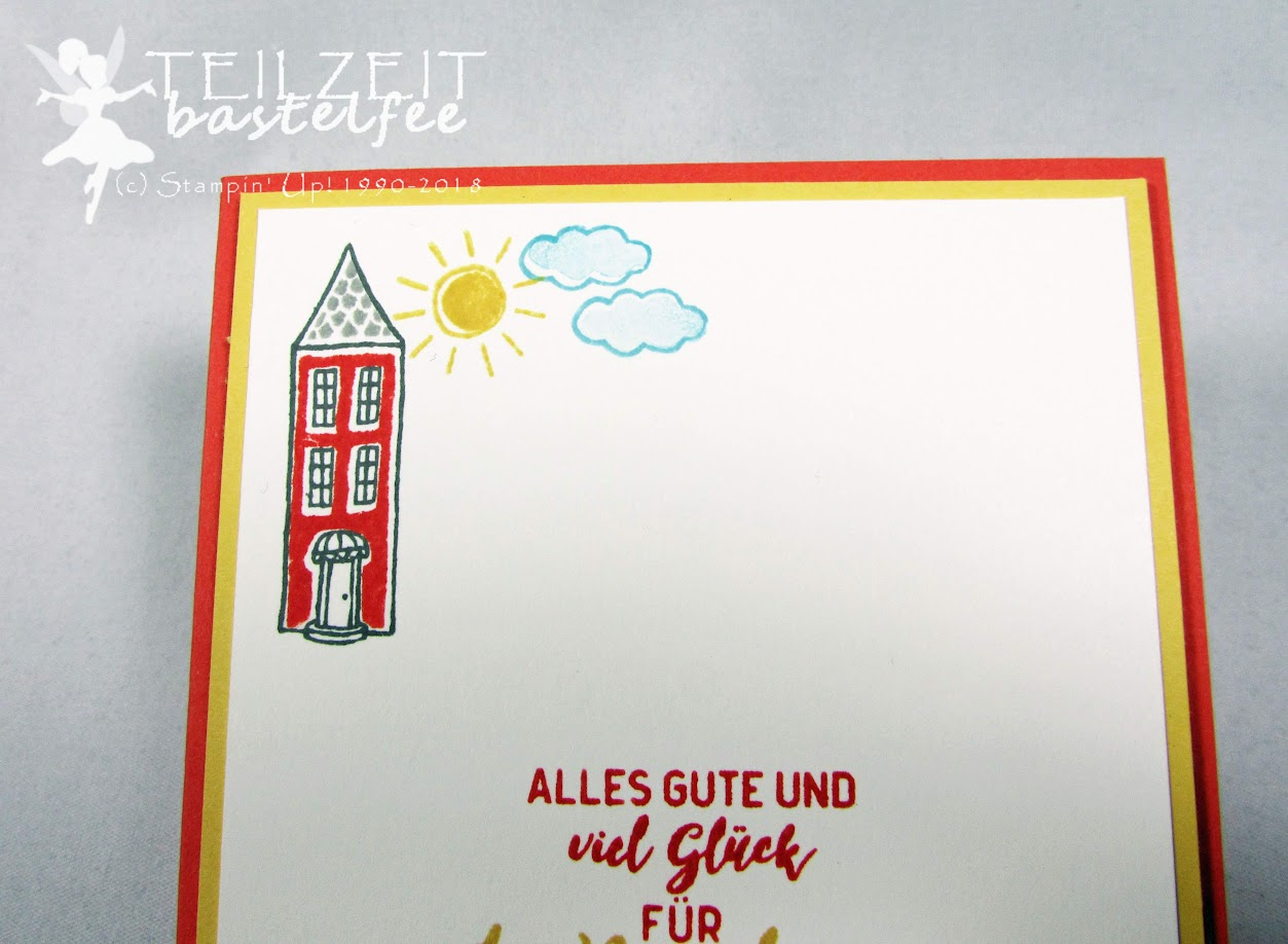 Stampin' Up! - Inkspire_me, In the City, Stadt Land Gruß