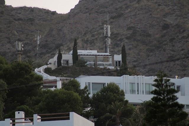 Residencia en Las Negras donde Guti disfrutó de sus vacaciones en familia.