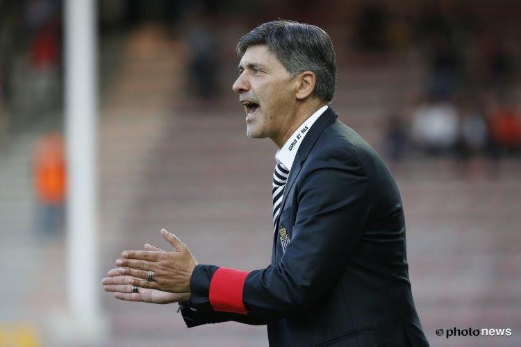 'Ook de coach van deze eersteklasser is nog steeds in de running om Preud'homme op te volgen'