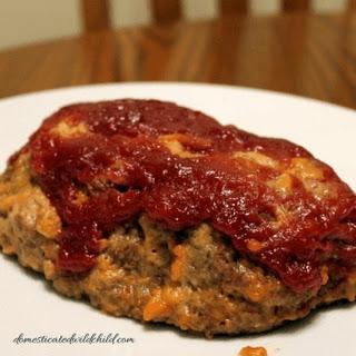 Crockpot Cheddar Meatloaf