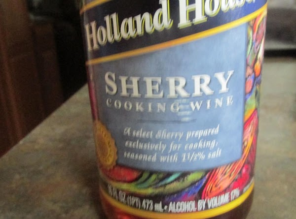 Create a creamy base by blending the Dijon mustard with the cooking sherry, and...