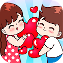 Romantic Couple Stickers for WhatsApp - WAStickers icon