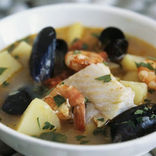 Seafood Broth with Parsley