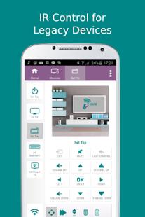 3 SURE Universal Remote App screenshot
