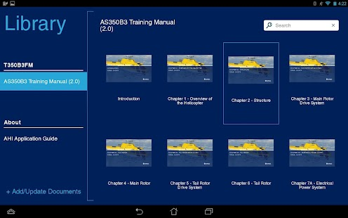 AHI Manuals- screenshot thumbnail
