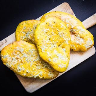 Turmeric Garlic Indian Naan