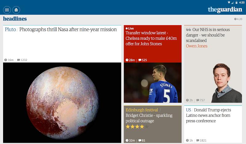 The Guardian: Top Stories, Breaking News & Opinion Screenshot 5