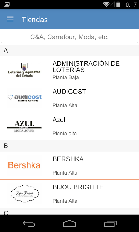 C.C. Plaza de la Estación- screenshot