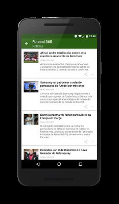 Futebol Portugal - screenshot