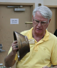 Photo: Gary Nickerson with a walnut bowl  [10.08]
