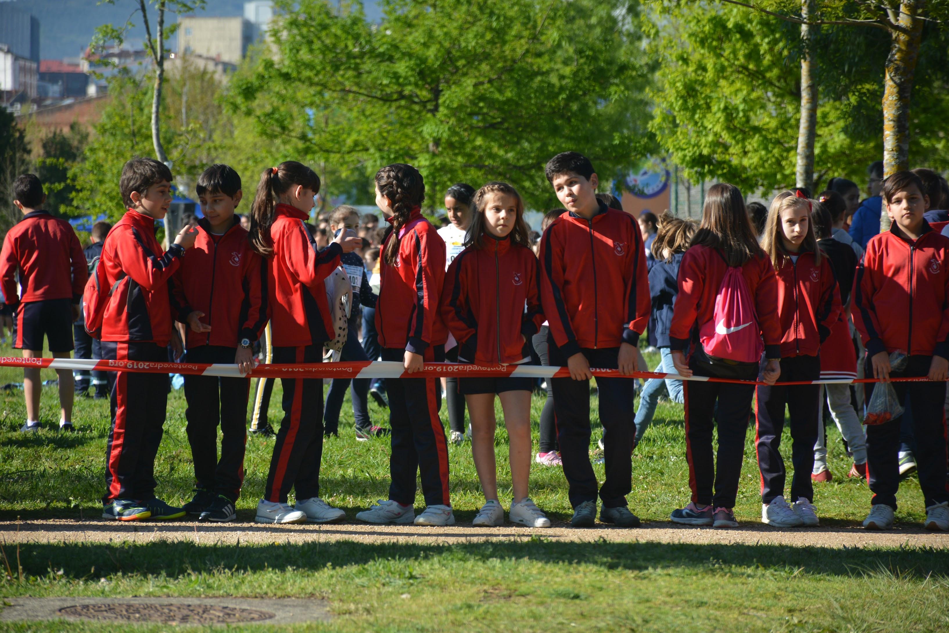 Alumnos del Sagrado Corazón de Pontevedra