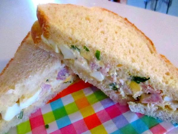~ Ham & Egg Salad ~ Recipe