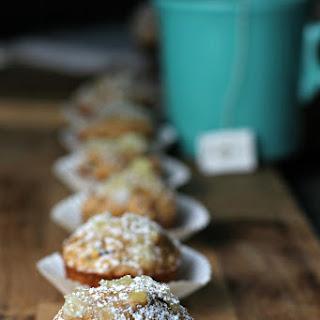 Mini Zucchini Muffins With Pineapple Glaze