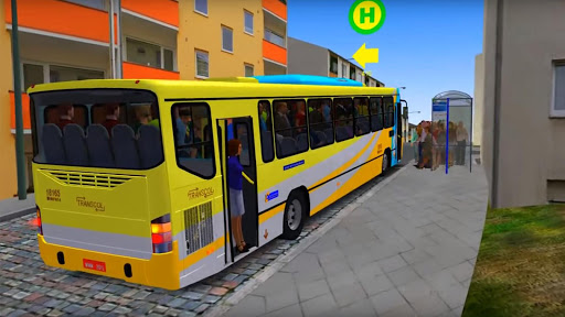 City bus driver & Off Road Bus driver  screenshots 1