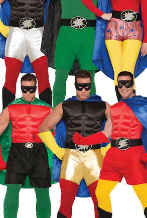 Hero shorts, vuxen