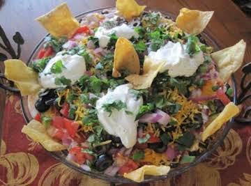 Ensalada familiar de Fiesta (Family Fiesta Salad)