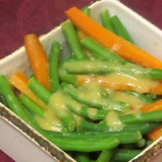 Vegetables in Miso Sauce