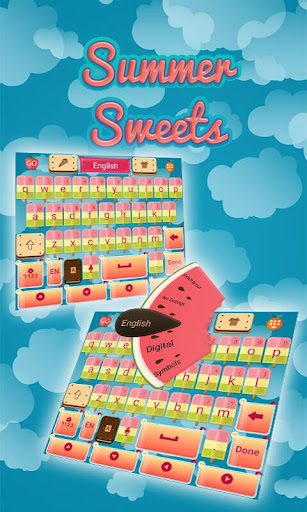 Summer Sweets Keyboard Theme