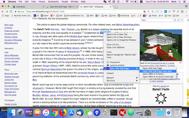 Open Wiki Edit Page
