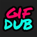 Gifdub —voiceover GIFs icon