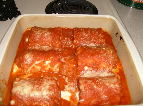 Sausage Lasagna Wraps Recipe