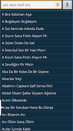 Türkü Sözler ve Notaları 1.30 screenshot 2092183