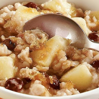 Slow-Cooker Apple Cranberry Oatmeal.