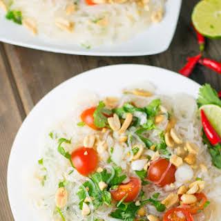 Thai Vermicelli Noodle Salad.