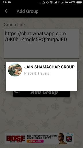 Groups For Whatsapp 1.4 screenshots 5