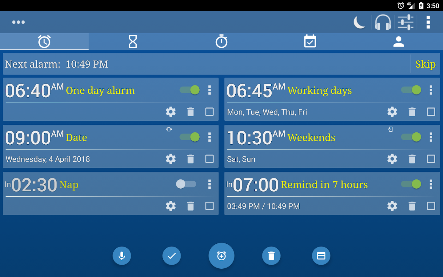 Alarm Plus Millenium- screenshot