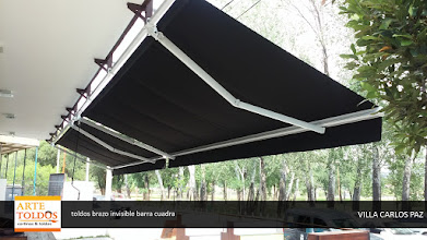 Photo: Toldo brazo invisible en Córdoba