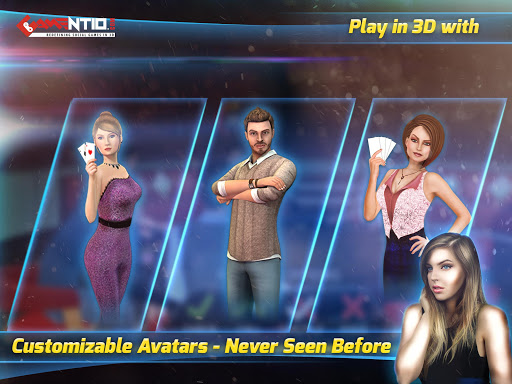Gamentio 3D: Teen Patti Poker Rummy Slots +More 1.1.43 screenshots 17
