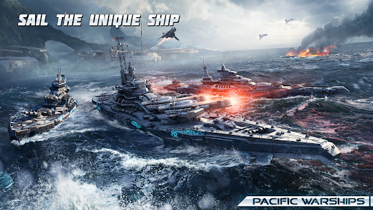 Pacific Warships: World of Naval PvP Wargame 3