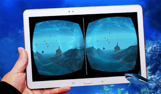 Blue Whale Shark Virtual Reality ( VR )- screenshot thumbnail