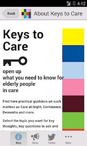 Keys to Care screenshot 0