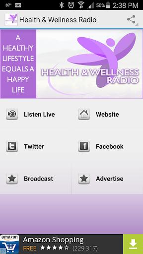 Health Wellness Radio  screenshots 1