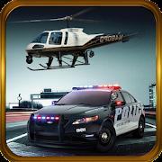 Police Helicopter-Criminal car