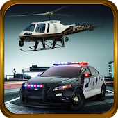 Police Helicopter-Criminal car
