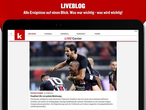 kicker Fußball News 6.6.0 screenshots 12