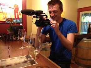 Photo: Wine tasting