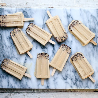 Whiskey Ice Coffee Popsicles