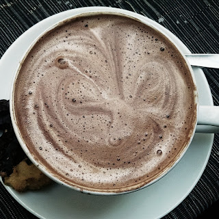 Peppermint Hot Chocolate Cocktail