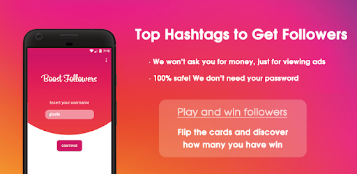 BoostFollowers: Top Hashtags to Get more Followers for PC