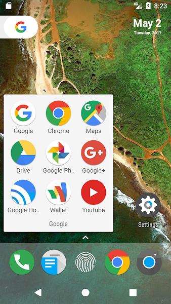 N Launcher Pro - Nougat 7.0 Screenshot Image